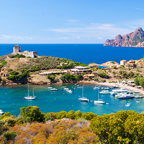Mediterranean yacht charter Corsica
