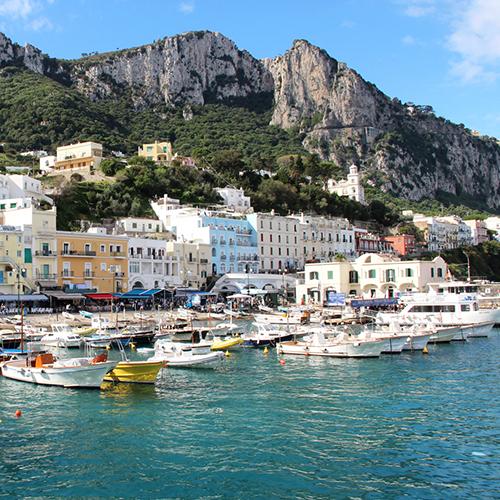 Mediterranean yacht charter Capri